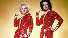 Marilyn Monroe and Jane Russell, Gentlemen Prefer Blondes