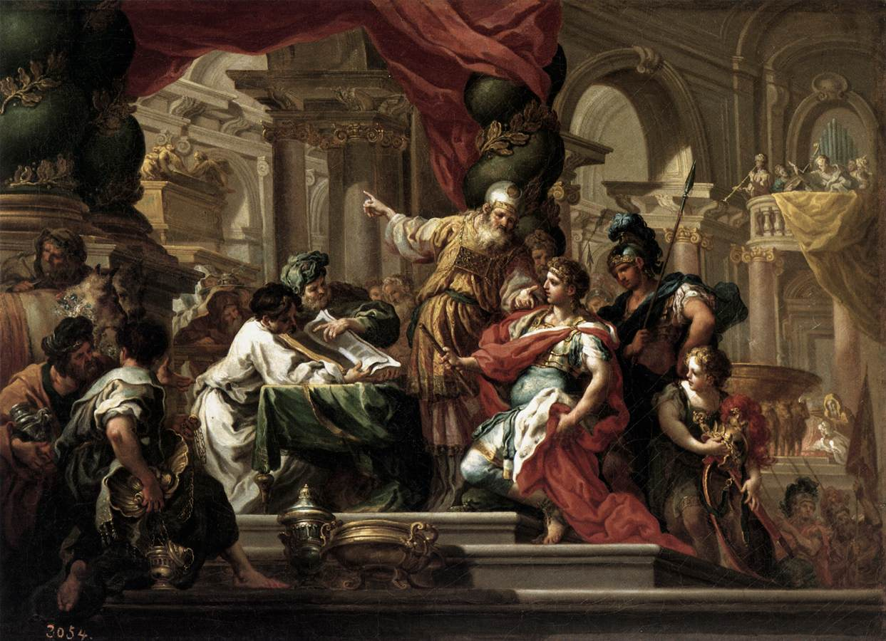 Alexander the Great Painting
