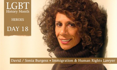David Burgess was regarded as one of the finest immigration lawyers of his generation. The decisions he secured in the British courts and the European Court ... - David-Sonia-Burgess1-450x272
