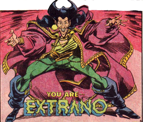 extrano gay superhero It would make sense for this superhero from a matriarchal culture to come ...