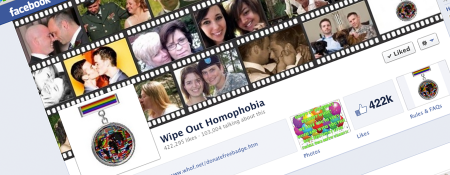 Wipe Out Homophobia Facebook page