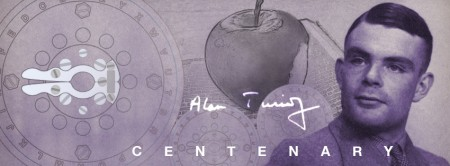 Alan Turing Centenary Apple
