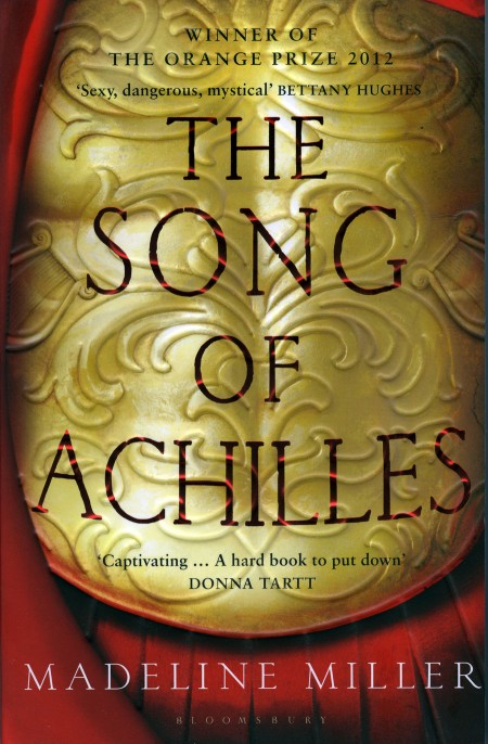 The Song of Achilles, Madeline Miller, paperback cover