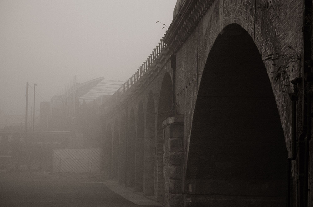 Limehouse Viaduct in Mist, Dan Hall