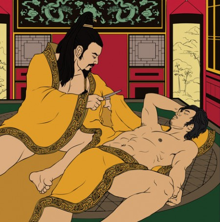 Emperor Ai and his lover Dong Xian Queer History Imperial China