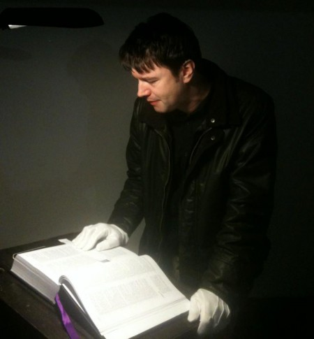 Paul Baker Polari Bible Reading, World Record