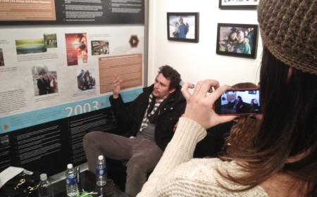 James Franco in interview, Sundance Film Festival