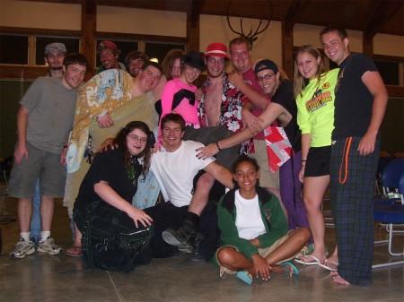 Ransburg Camp Contingent, Rocky Horror