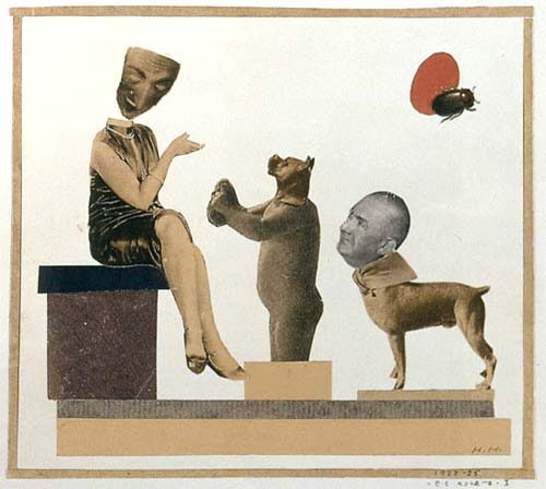 Coquette by Hannah Hoch